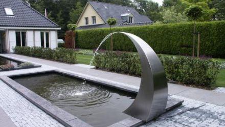 RVS fontein - RVS waterfonteinen - RVS waterornament