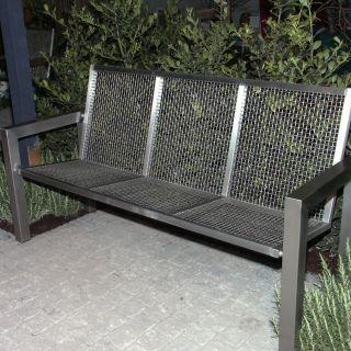 RVS tuinbank  Style 3-zits
