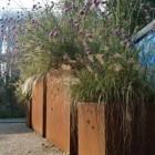 Plantenbak 120 x 60 x 100 cm cortenstaal met bodem