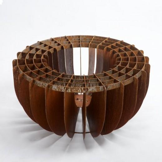 Vuurkorf Cortenstaal 80 cm