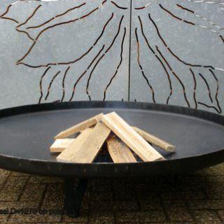 Vuurschaal op 3 poten Diameter 127 cm