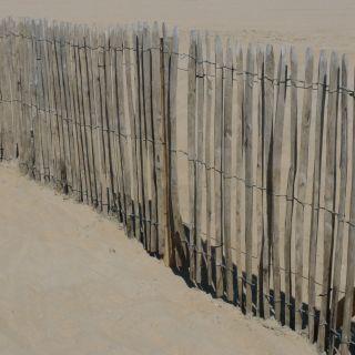 Kastanje hekwerk - 180 x 460 cm (latafstand ca. 8-10 cm)