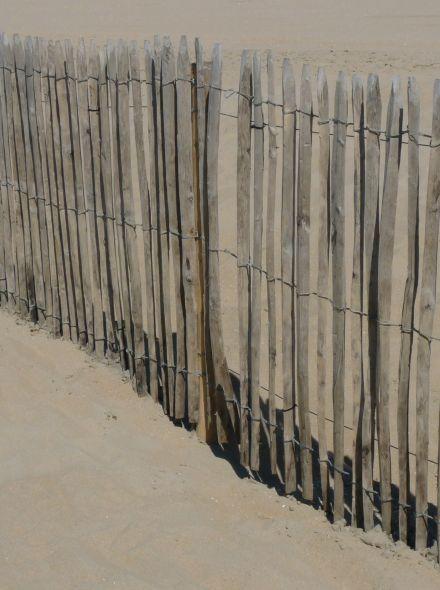 Kastanje hekwerk - 90 x 460 cm (latafstand ca. 5 cm)