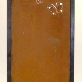 Tuinscherm Cortenstaal 90 x 180 cm met vlinders