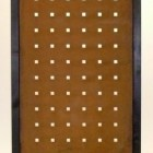 Tuinscherm Cortenstaal 90 x 180 cm met vierkante perfo