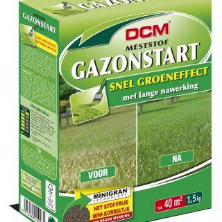 DCM Meststof Gazonstart - Gazon bemesten - 1,5 kilogram (Gazonbemesting 40 m2)