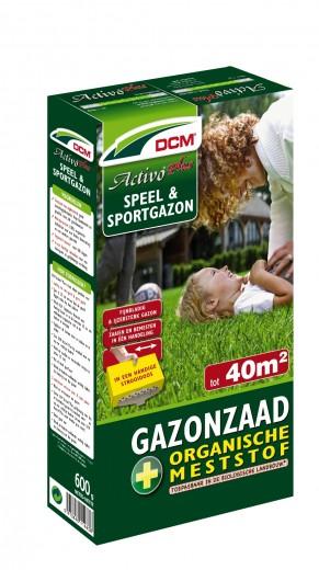 Speelgazon -  Sportgazon graszaad - DCM Activo® Plus - 40 m2 - 600 gram