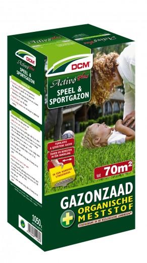 Speelgazon -  Sportgazon graszaad - DCM Activo® Plus - 70 m2 - 1005 gram