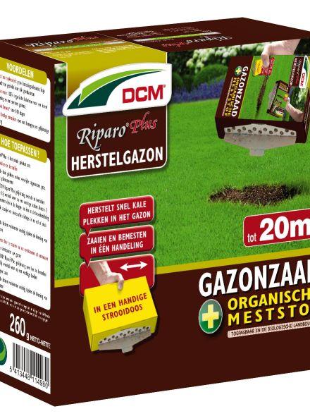 Herstel gazon - graszaad - DCM Riparo® Plus - 20 m2 - 260 gram