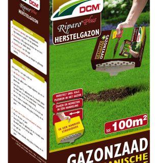 Herstel gazon - graszaad - DCM Riparo® Plus - 100 m2 - 1300 gram