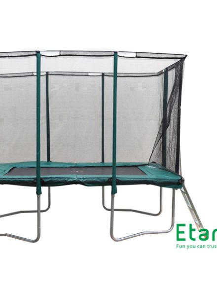 Trampoline 1,90 x 2,75 meter met veiligheidsnet  (EPP0965C)