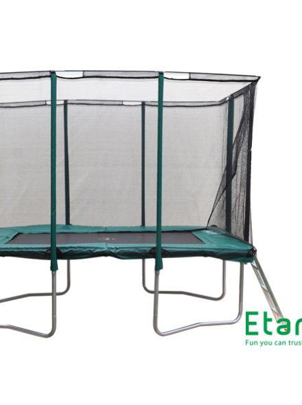 Trampoline 3,05 x 2,30 meter met veiligheidsnet  (EPP1075C)