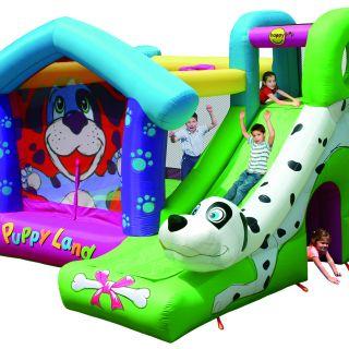Springkussen Happy Hop Puppy Land (HH9109)