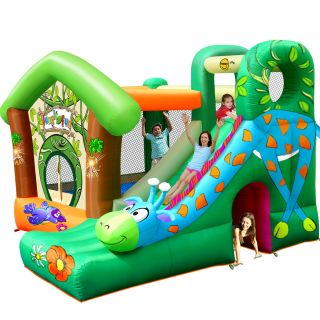 Springkussen Happy Hop Jungle Fun (HH9139)