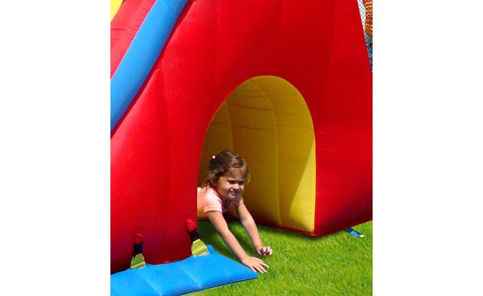 Springkussen Happy Hop Mega Slide-Combo (HH9082N)