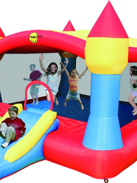 Springkussen Happy Hop Super Castle Bouncer with Slide (HH9217N)