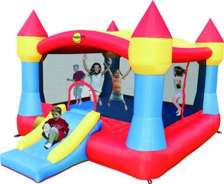 Springkussen Happy Hop Super Castle Bouncer with Slide (HH9217N)