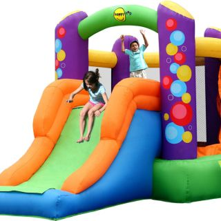 Springkussen Happy Hop Combo Bouncer with Slide (HH9236)