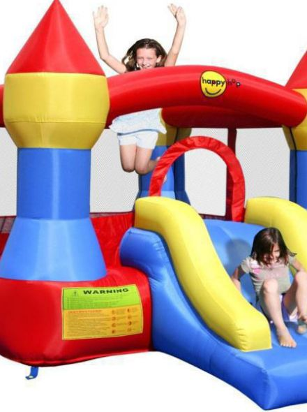 Springkussen Happy Hop Castle Bouncer with Slide (HH9017)