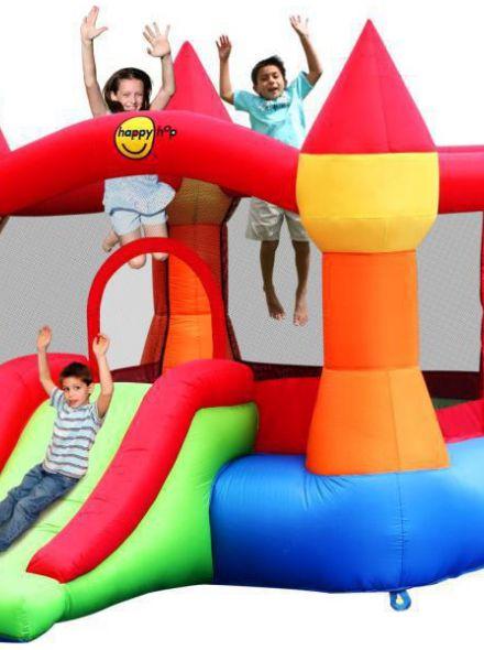 Springkussen Happy Hop Castle Bouncer with Slide N (HH9017N)