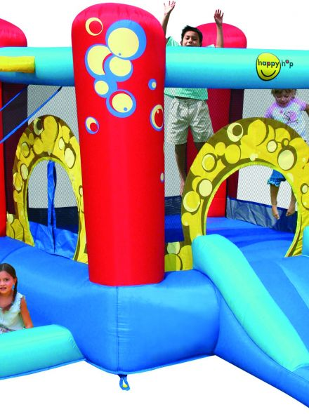 Springkussen Happy Hop Bubble 4 in 1 Play Center (HH9214)