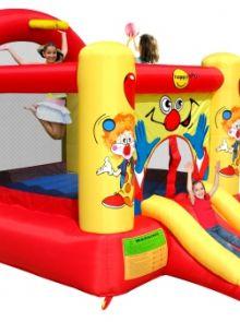Springkussen Happy Hop Clown Slide and Hoop Bouncer (HH9304Y)