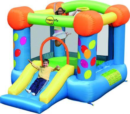 Springkussen Happy Hop Party Slide and Hoop Bouncer (HH9070)