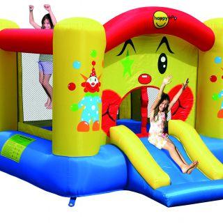 Springkussen Happy Hop Clown Slide and Hoop Bouncer (HH9201)