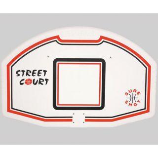 Basketbal Backboard pp-compositie 112 x 73 cm (SS118)