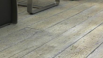 Buitenvloeren van optisch hout