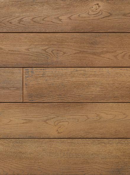 Buitenvloer eiken bruin (plank 17,6 x 3,2 x 360 cm)