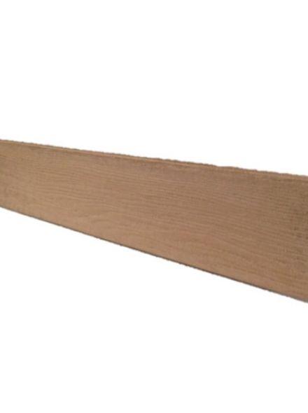 afwerkplank bruin (vast) 14,6 x 1,8 x 240 cm