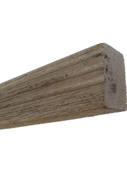 geribbeld afwerkrand ultra-flex (bruin) 5 x 3,3, x 240 cm