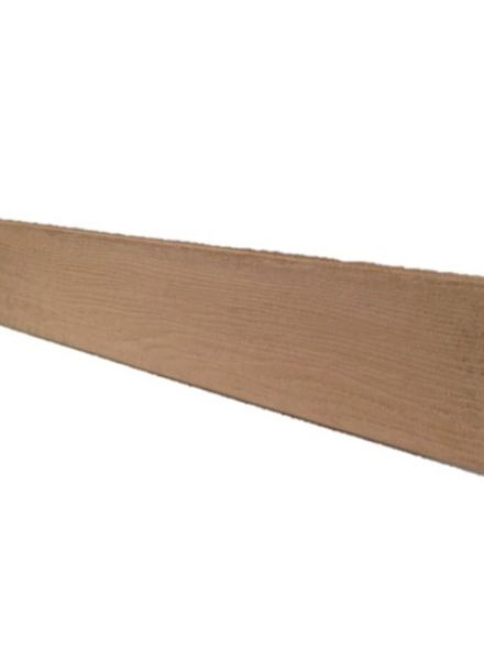 afwerkplank grijs (vast) 14,6 x 1,8 x 240 cm