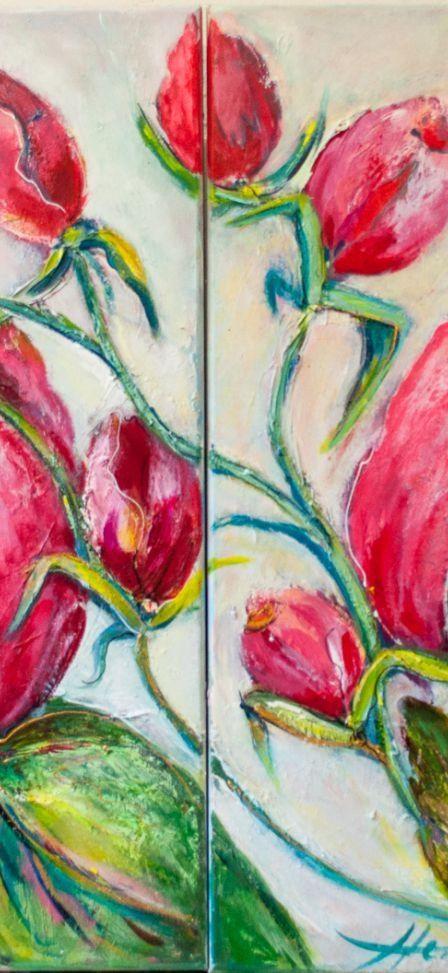 Tweeluik rozen