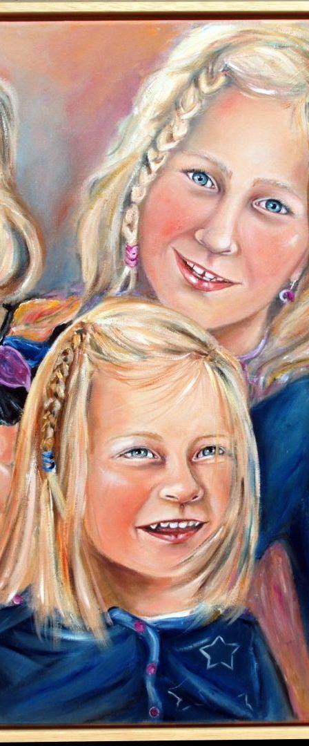 Portret kleinkinderen