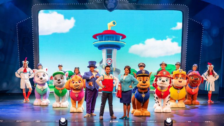 Paw Patrol Live in AV & Entertainment Magazine