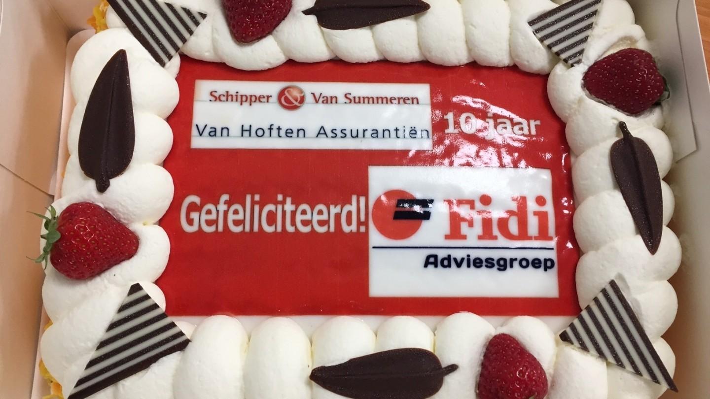 Op 5 juni 2017 vierden wij het 10-jarig jubileum van Fidi Adviesgroep.