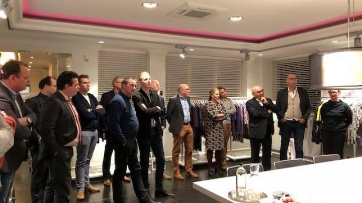 Kleine impressie bedrijfsbezoek Sarto Fashion
