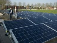 Met 102 zonnepanelen gaat Victoria'25 voor duurzaam