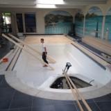 Verbouw zwembad naar salon