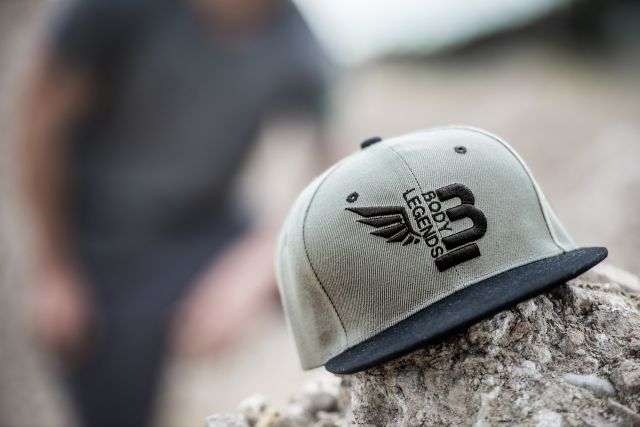 Body Legends SnapBack Grey Army
