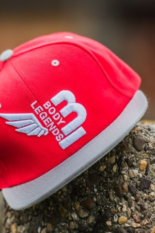 Body Legends SnapBack Lava Red
