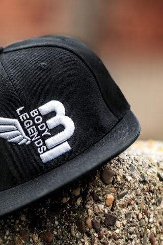 Body Legends SnapBack Deep Black