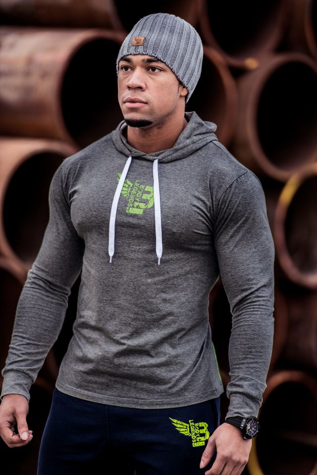Body Legends Pullover hoodie Toned Stone