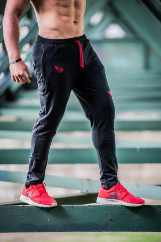 Body legends Legendary pants - blACK Red