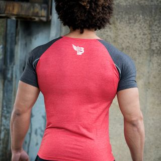 Body Legends Legendary Shirt Red Graphite