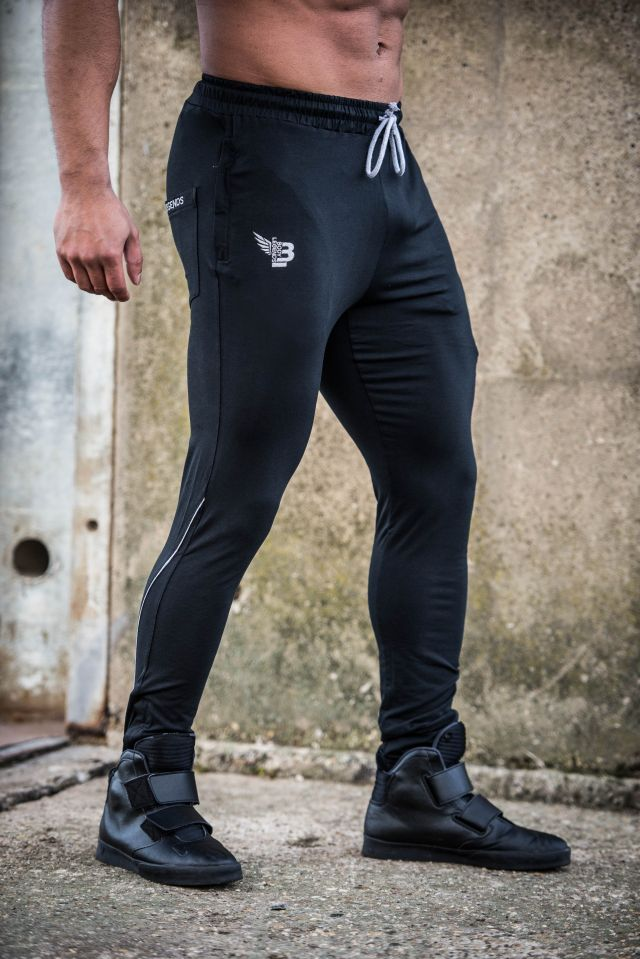 Body Legends Legendary Pants Alpha Black