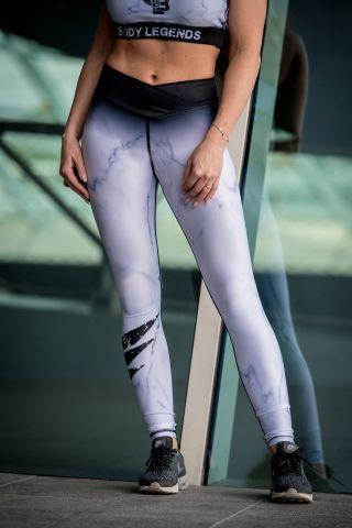 Legging Marbelous White