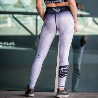 Legging Marbelous White